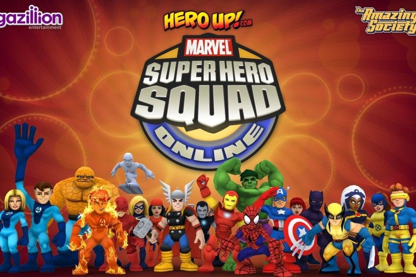Marvel Super Hero Wallpapers | Super Hero Squad Online | HeroUp.