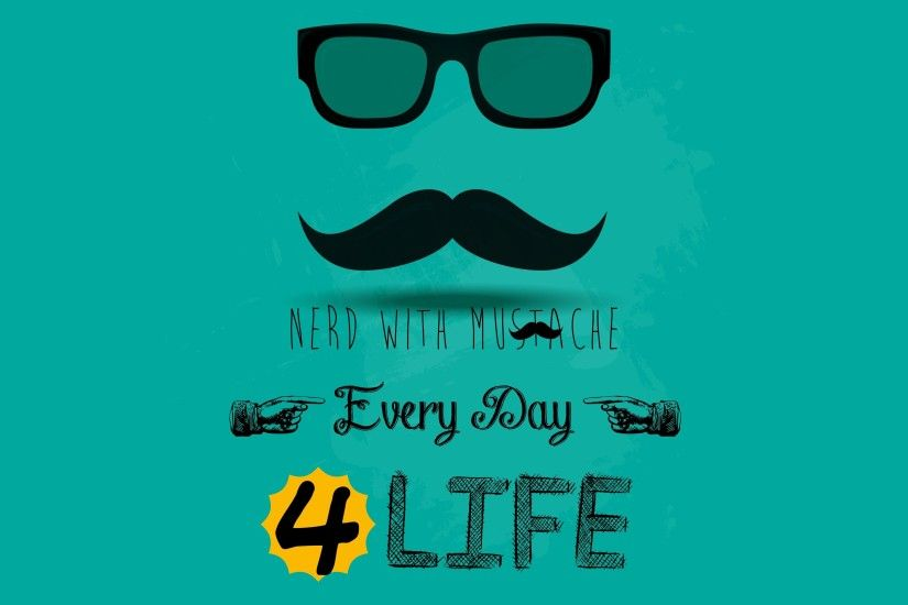 nerds desktop mustache hd wallpapers desktop wallpapers 4k high definition  windows 10 mac apple colourful images download wallpaper free 3840×2160  Wallpaper ...