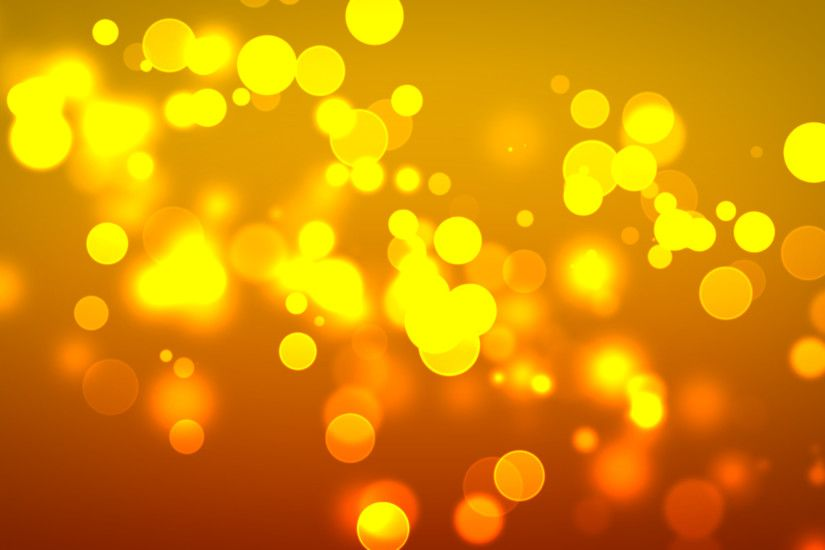 Cool Orange Bubbles Wallpaper