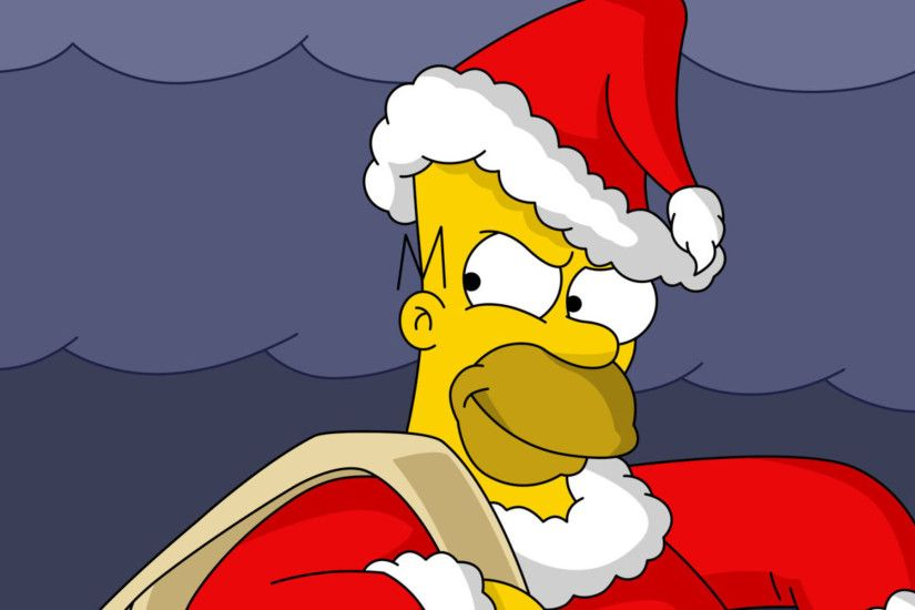Homer as the Grinch