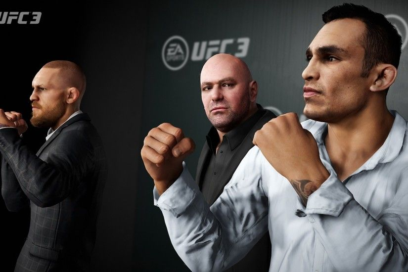 EA Sports UFC 3 Logo Wallpaper ...