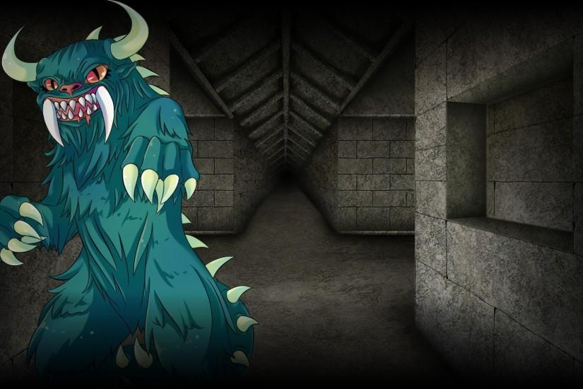 File:Magical Diary Background Hodag in the Dungeon.jpg