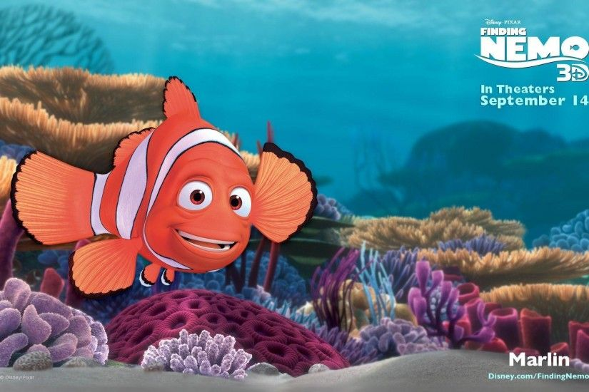 23 Finding Nemo Wallpapers