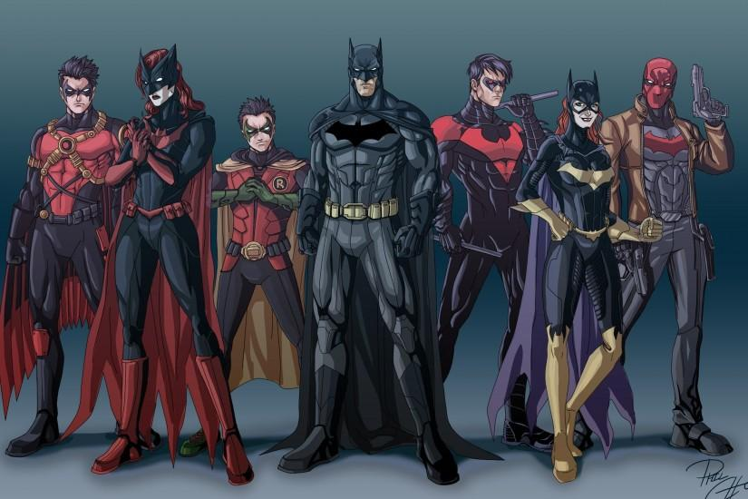 dc-comics-batman-robin-batwoman-justice-league-nightwing-