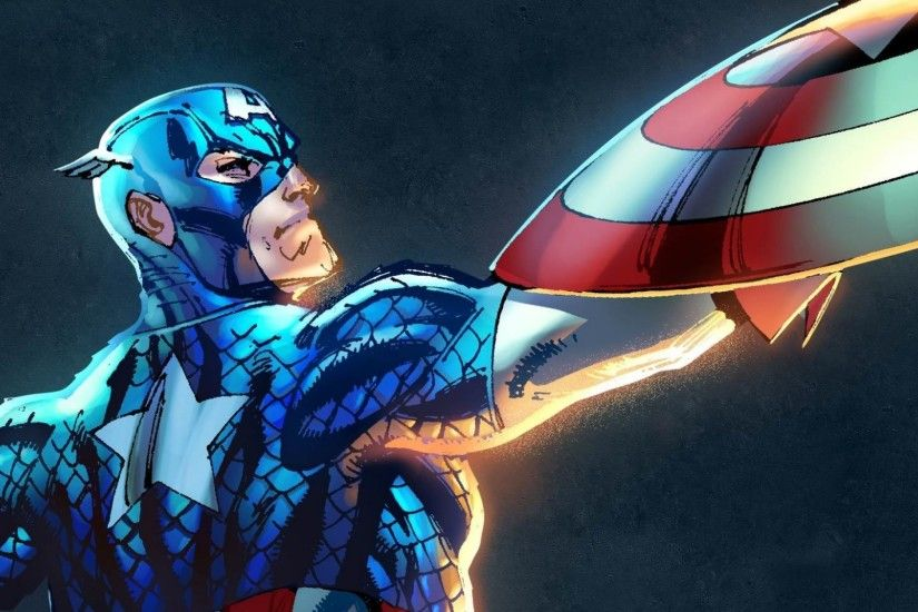 Name: Captain America Game: Marvel Heroes 2015 Series: 1 Card Number: 1 of  9 Description: In the.