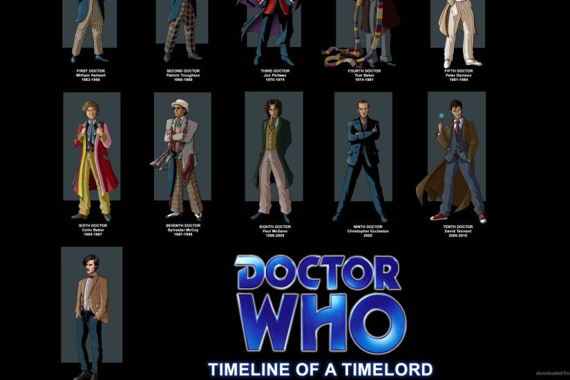 1920x1080 Doctor Who Timeline Of A Timelord wallpaper