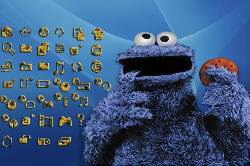 Cookie Monster Backgrounds 1920x1080