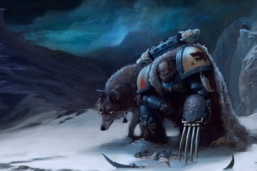 Warhammer 40K Space Wolves 834390