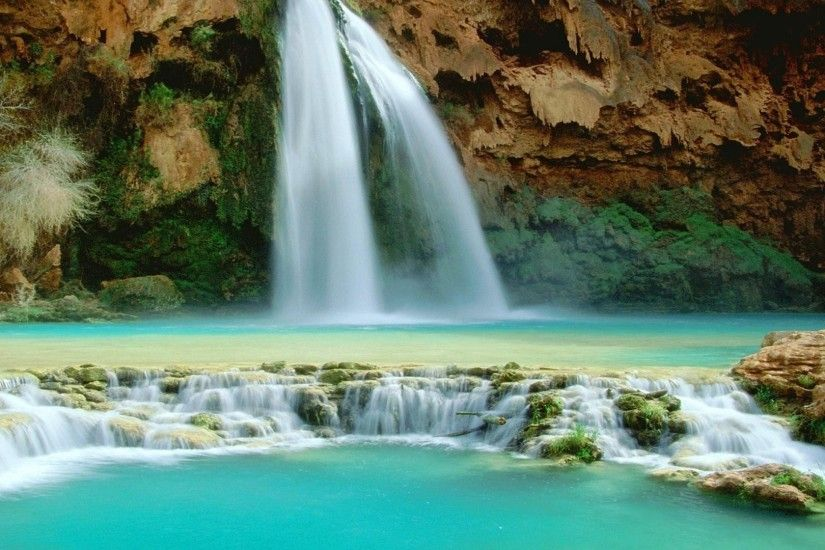 1920x1080 hd pics photos nature waterfall water bodies scenery desktop  background wallpaper