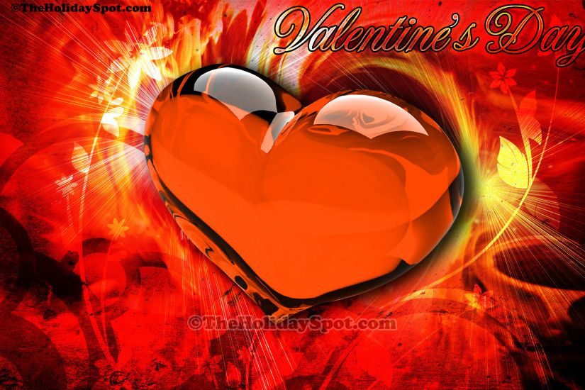 A High Definition Valentine's Day wallpapers showcasing the passion of love