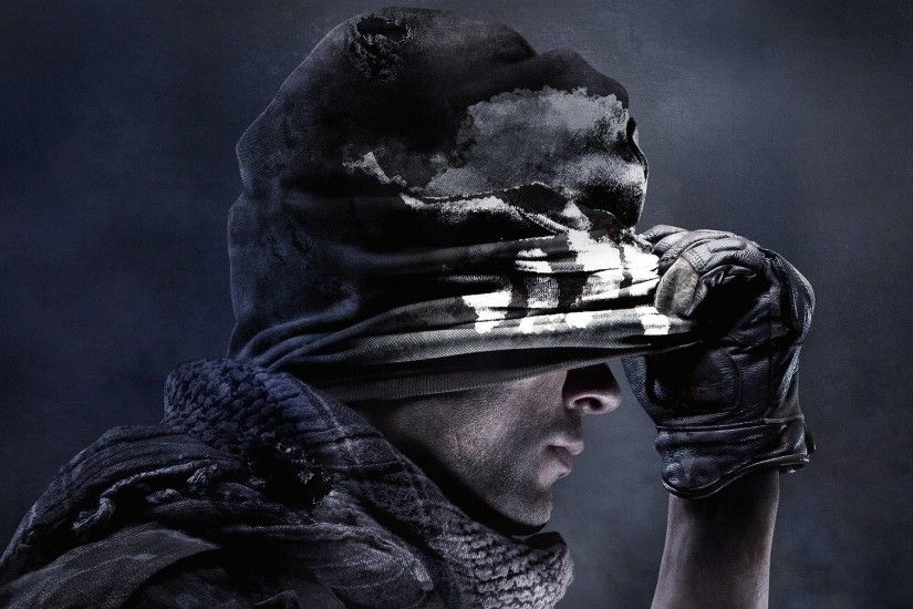 Best Games Wallpaper, Call of Duty Ghosts, Dangerous Cool Guy .