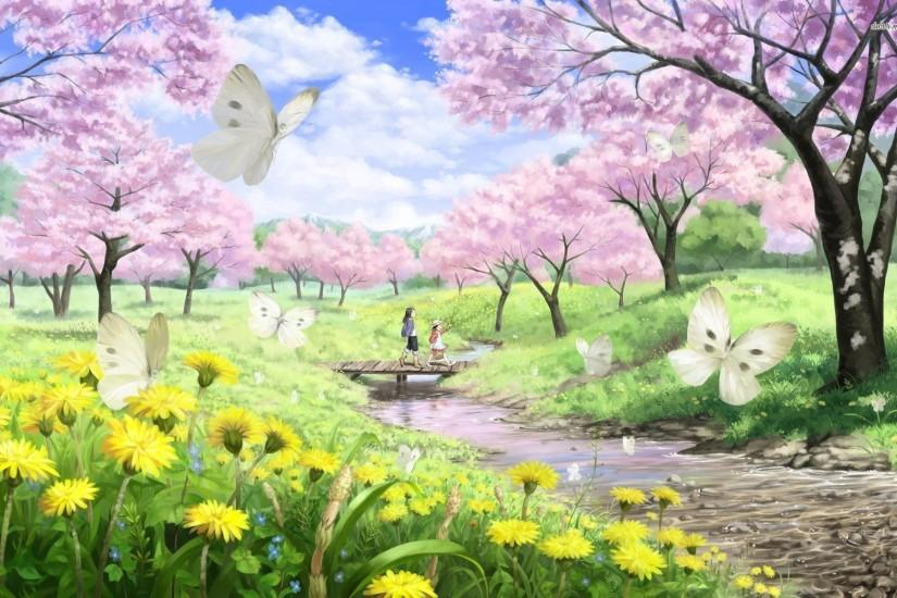 spring backgrounds 1920x1200 image