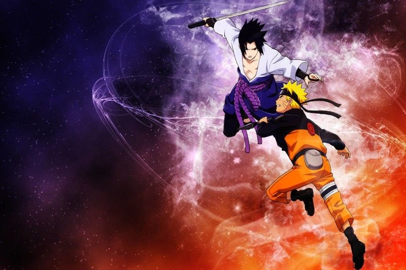 Sasuke and Naruto Shippuden Wallpaper HD - WallFinest