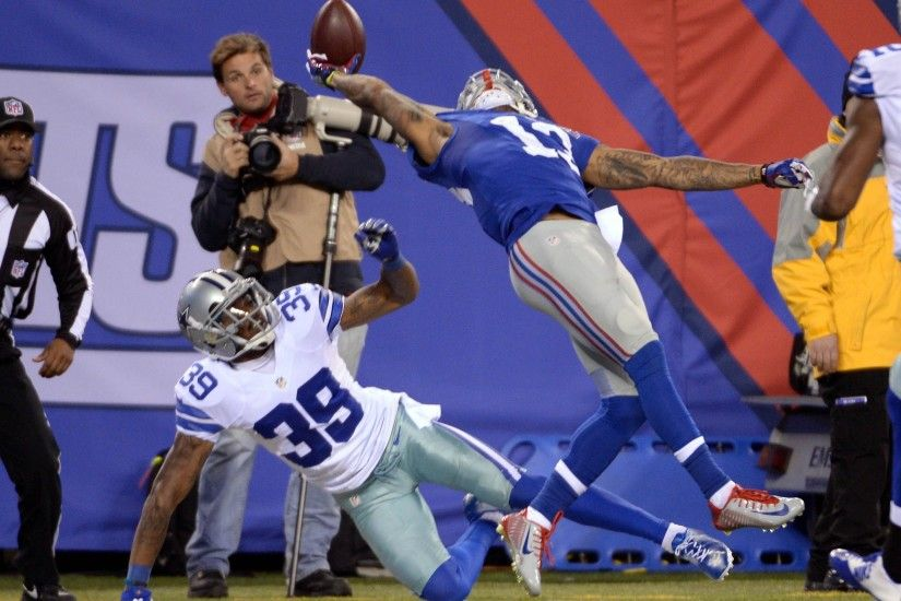 Odell Beckham Jr. stuns Cowboys defenders with 'ridiculous' one-handed TD  catch