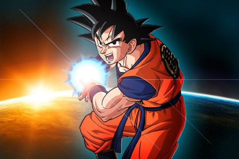 Goku Kamehameha Dragon Ball Z Wallpaper | warnerboutique