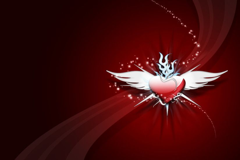 Amazing Red Love HD Wallpaper 097