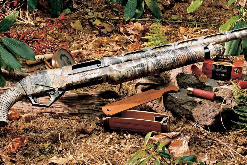 Shotgun for Hunting in Jungle HD Desktop Images | HD Wallpapers