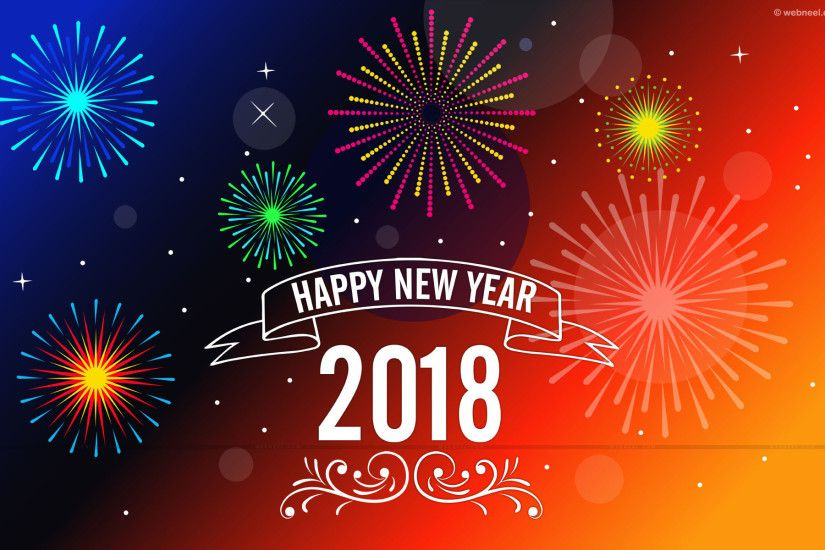 2018 Wallpaper, Happy New Year 2018, Happy New Year Wallpapers, Hd New  Years Wallpapers, New Year, Santa Wallpapers HD / Desktop and Mobile  Backgrounds