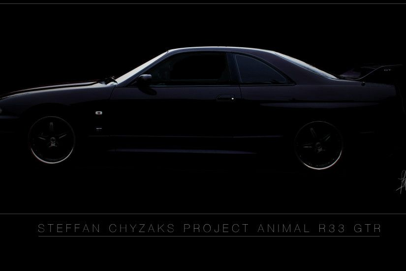 R33 GTR Midnight Purple Wallpaper by Stefffan Chyzak