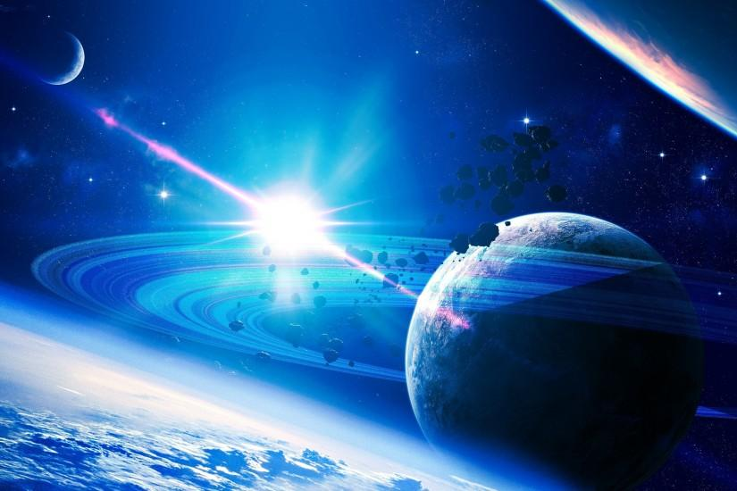 blue space wallpaper 5757
