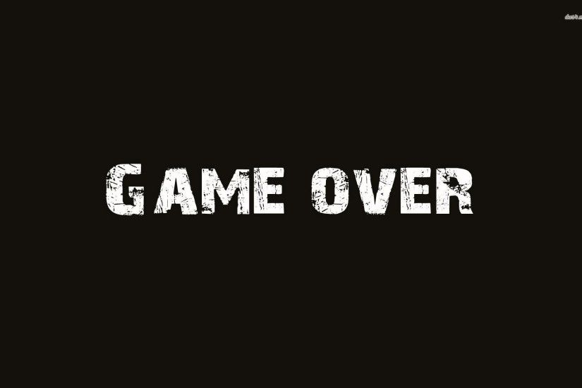 Game Over 804066