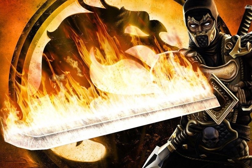Mortal Kombat Scorpion Wallpapers - Full HD wallpaper search