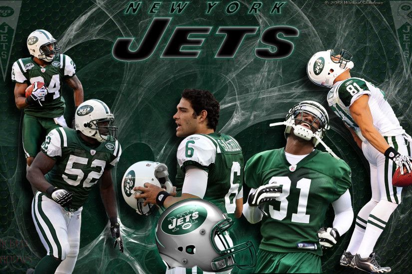5x4 Standard | 16x9 Widescreen | 16x10 Widescreen New York Jets Team  Wallpaper ...