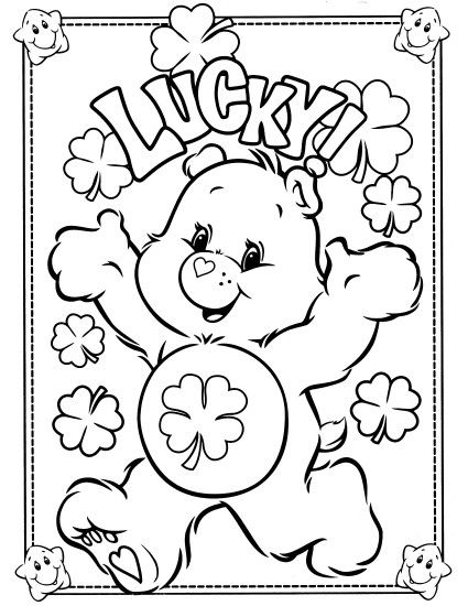 Elegant Care Bear Coloring Pages 37 About Remodel Coloring for Kids with Care  Bear Coloring Pages