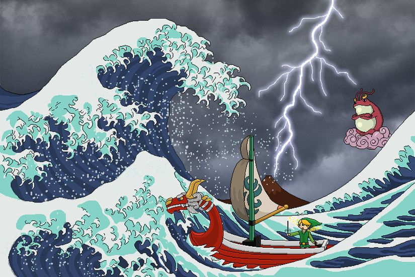 Image from http://www.brawlinthefamily.com/images/Art1210-06.png. | The  GREAT WAVE | Pinterest