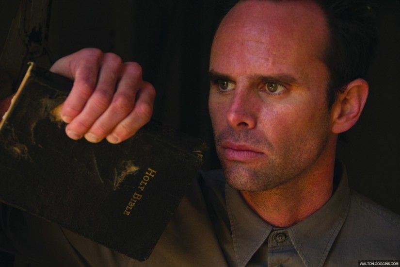 Walton Goggins fondo de pantalla probably with a business suit and a green  boina entitled Walton