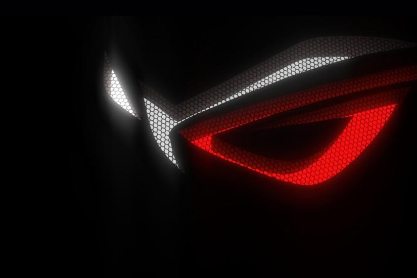 asus rog (republic of gamers) logo hex background hd. 1920x1080 1080p .