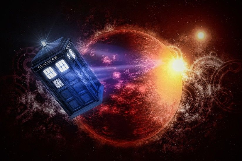 Doctor Who, TARDIS, The Doctor, Artwork, TV Wallpapers HD / Desktop and  Mobile Backgrounds