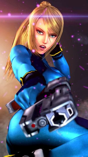 1920x1080 video Games, Metroid, Samus Aran, Gray Background, Women, Blonde,  Long Hair, Ponytail, Bodysuit, Aliens, Nintendo, Zero Suit Wallpapers HD ...