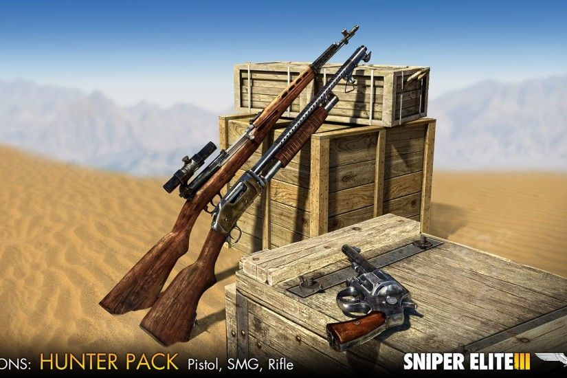 Sniper Elite 3 - Weapons Pass