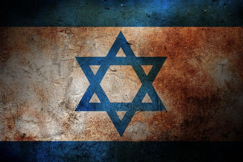 Preview wallpaper flag, israel, color, surface, paint 2560x1440