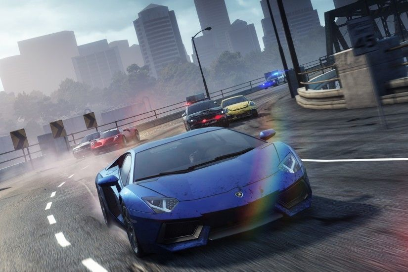 Widescreen Wallpaper: need for speed most wanted