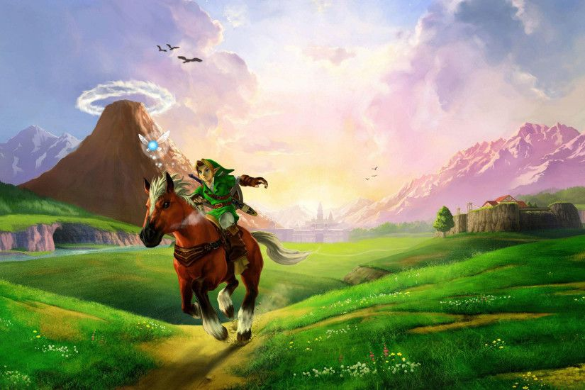 zelda wallpaper 1920x1080the legend of zelda ocarina of time wallpaper