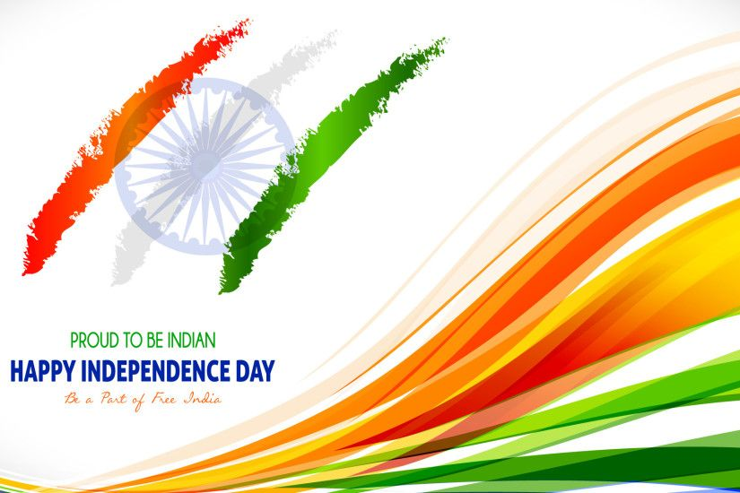 August Indian Independence Day Wallpaper with Tricolor India Flag - HD  Wallpapers