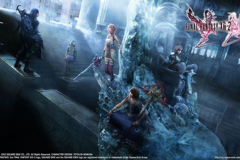 Final Fantasy XIII-2 Wallpapers - Final Fantasy FXN Network