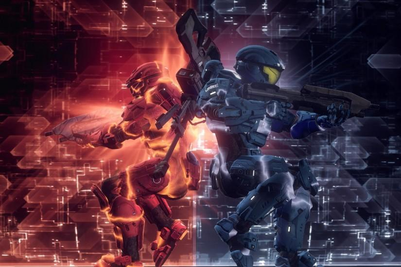 cool red vs blue wallpaper 1920x1080 iphone
