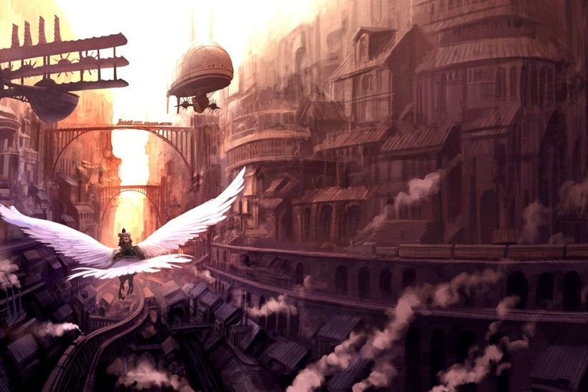 Science-Fiction - Steampunk Wallpaper