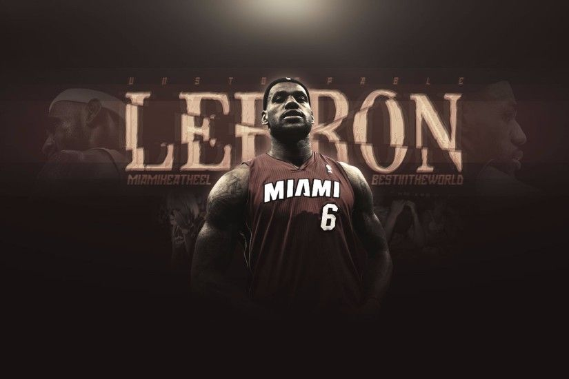 Lebron James Miami Heat 4K Wallpaper
