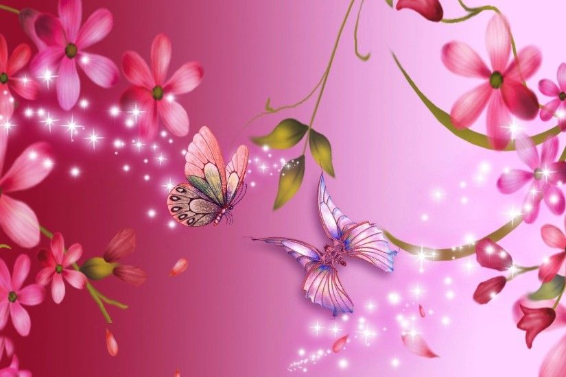 Pink Flower Wallpapers 1080p