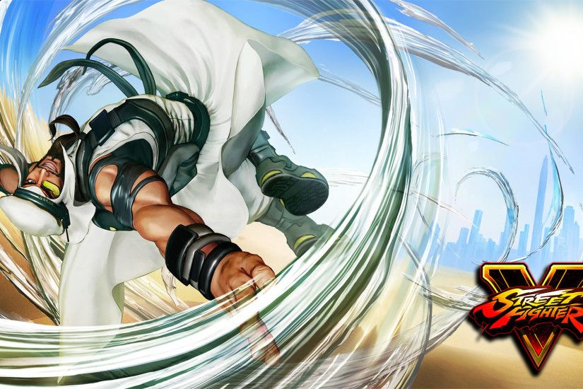 Rashid in Street Fighter V wallpaper