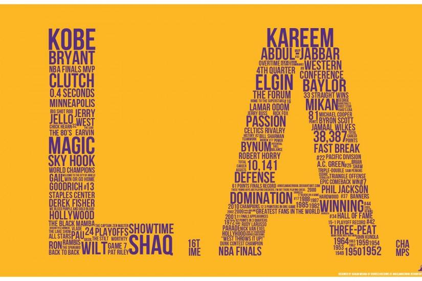 Los Angeles Lakers by IshaanMishra on DeviantArt