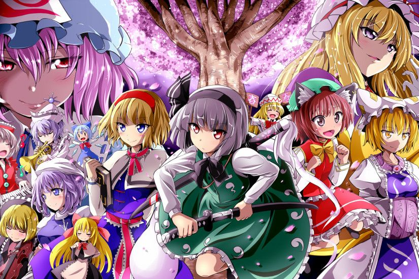 HD Wallpaper | Background ID:548224. 2112x1320 Anime Touhou