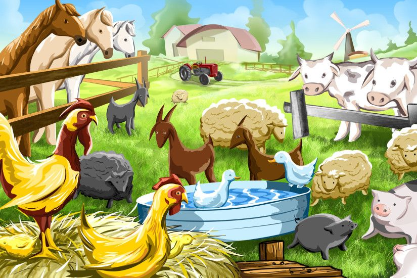 Farm Animals Pictures Wallpapers Images Photos Of