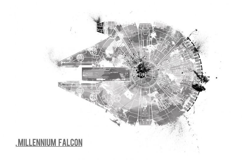 Millennium Falcon · HD Wallpaper | Background ID:497643