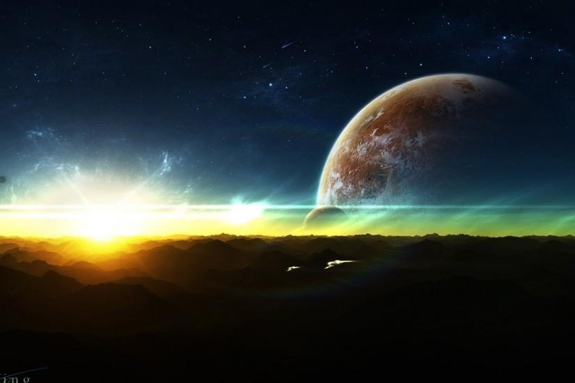 cool space background 1920x1080 x PC