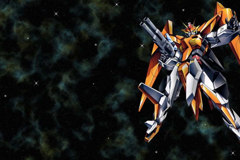Tags: Anime, Mobile Suit Gundam 00, GN-007 Arios Gundam, Edited